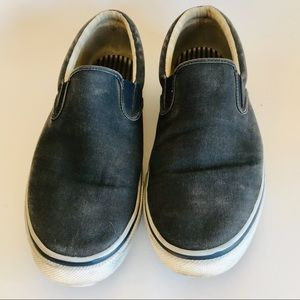Sperry Top-Sider Slip On Denim Canvas Boat Shoe